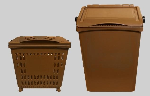 Suministro contenedores de fracción orgánica