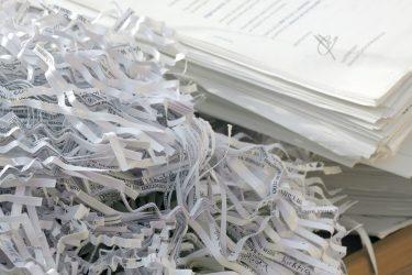 Destrucción de documentos certificada