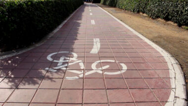 Carril bici en Alcasser